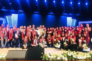 """بالصور طلاب جامعة عين شمس في الندوة التثقيفيه 31 للقوات المسلحة بعنوان """"إرادة وتحدي """""""